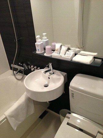 Hotel Vista Premio Kyoto:                   バスルーム