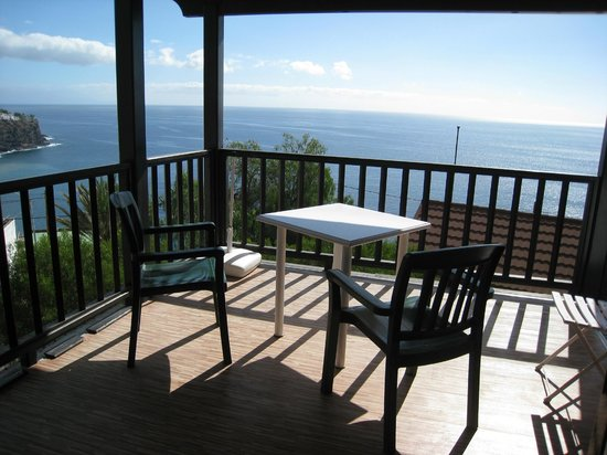 Turistico Rural Santa Ana:                   our verandah withsea view to the front