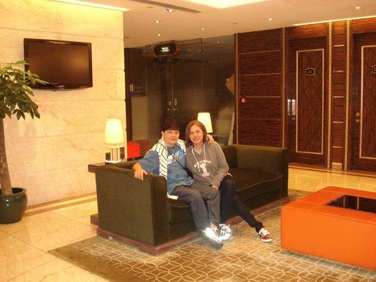 هوتل تايبا سكواير:                   lobby                 