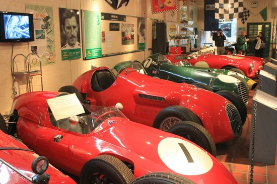 Weybridge, UK:                   Brooklands Museum - January 2013