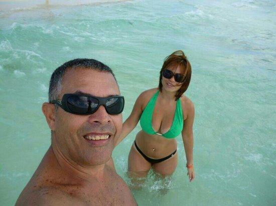 Iberostar Quetzal Playacar:                   Disfrutando el mar