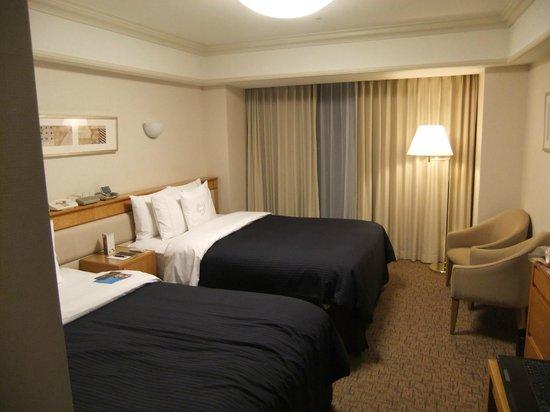 Sheraton Grande Tokyo Bay Hotel:                   クラブレベルの客室