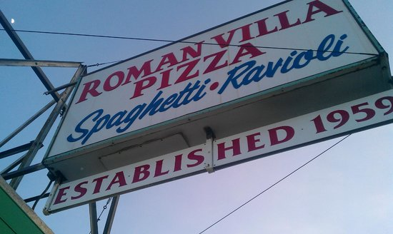 Roman Villa Pizza