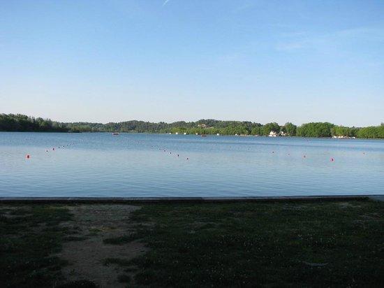 "Lago de Bañolas:                   Lake from ""city"" side."