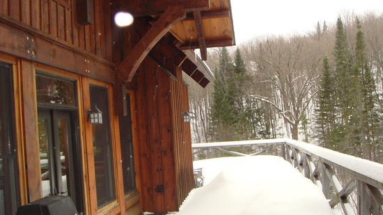 Tremblant Mountain Chalets:                   Balcony