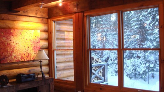 Tremblant Mountain Chalets:                   Look Outside