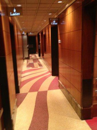 Belvedere Hotel: Couloir