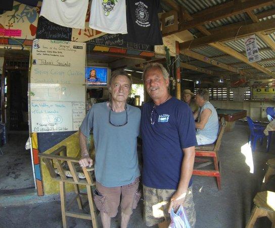 Skid Row's :                   Me and Dunc, a Skidrow regular :)