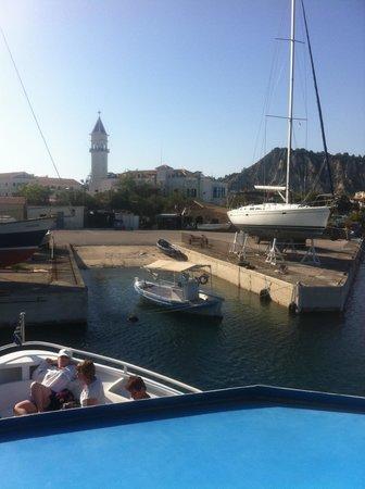 Planos Bay Hotel:                   zante port