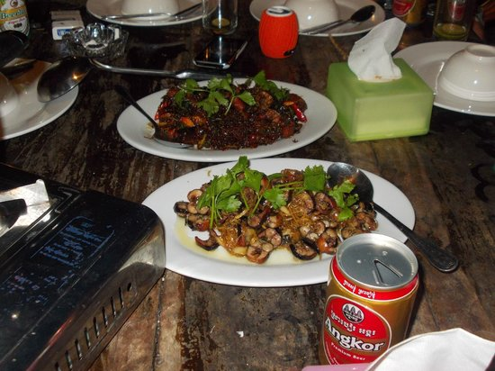 Little Princess Guesthouse:                   snake freshly prepared in chilli or ginger, delicious