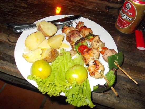 Little Princess Guesthouse:                   another great bbq