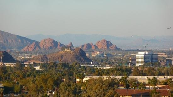 Arizona Grand Resort & Spa:                   View over Tempe from the Hotel.