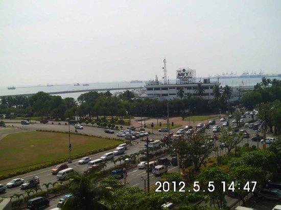 Hotel Jen Manila:                   View from my Room