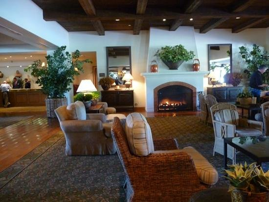 Arizona Grand Resort & Spa:                   Reception and lobby hall area.