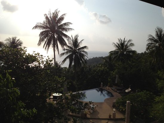 The Rocks Villas:                                     View from Couples Villa