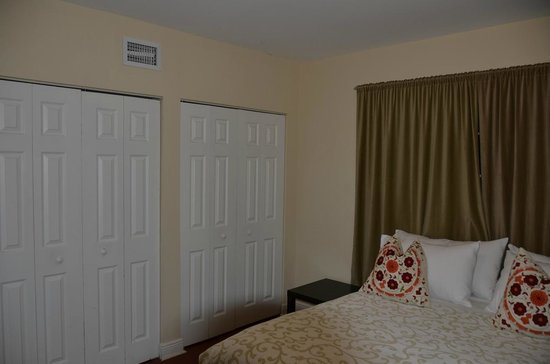 751 Meridian Apartments:                   Bedroom + lots of cupboard space