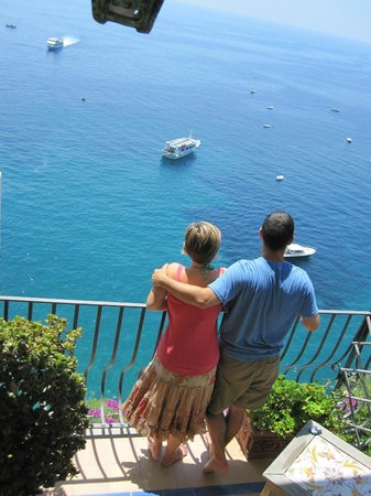 Hotel Miramare:                   Personal balcony and view