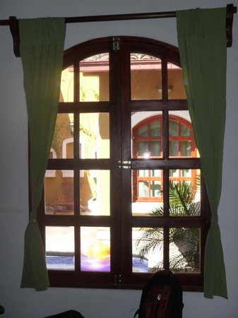Casa del Agua:                   Windows in room