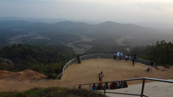 Madikeri, India:                   palce to see sunset