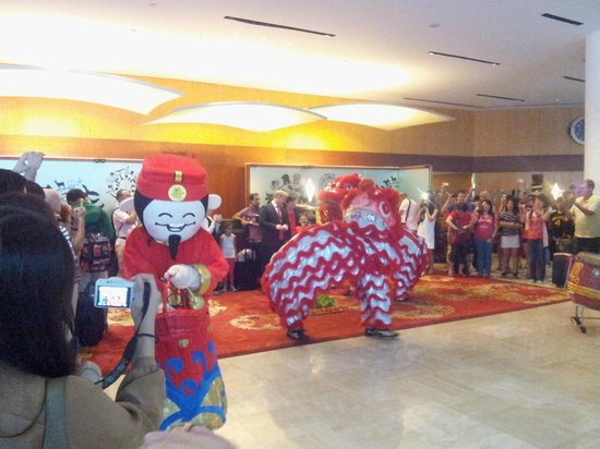 Swissotel The Stamford Singapore:                   Chinese New year celebrations