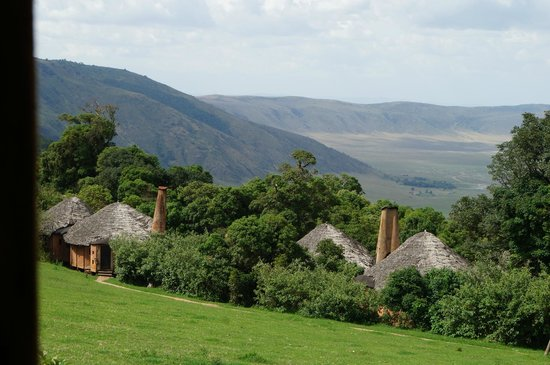 andBeyond Ngorongoro Crater Lodge:                   View from our room