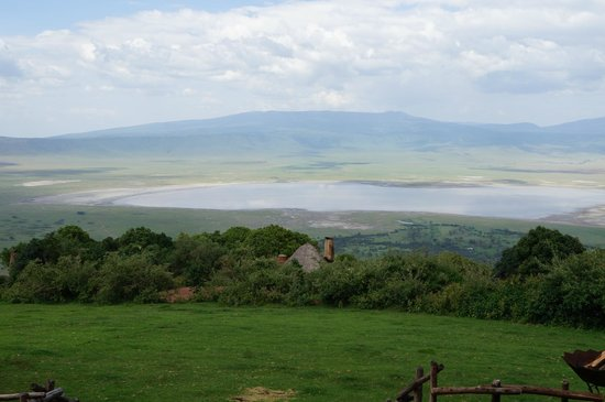 andBeyond Ngorongoro Crater Lodge:                   View from the main lodge
