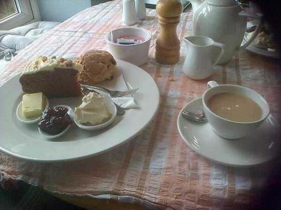 Blue Bird Tea Rooms:                   Yummy !