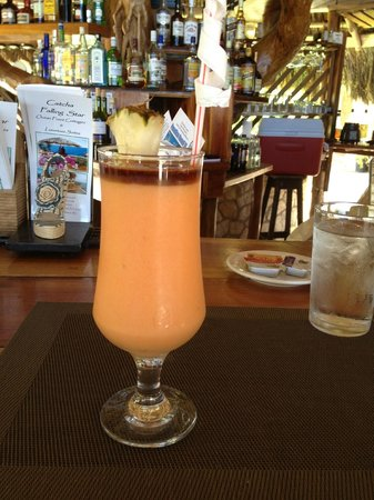 """Catcha Falling Star :                   Ty """"hooked up"""" the Rum Runner"""