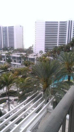 Hyatt Regency Sarasota:                   Balcony view