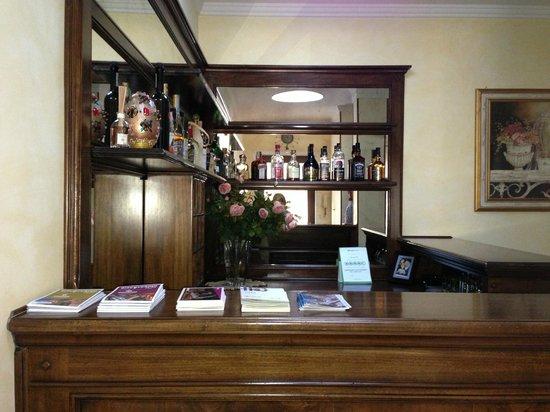 Relais Casabella:                   lounge area