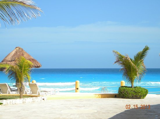 Fiesta Americana Condesa Cancun All Inclusive:                   ocean view