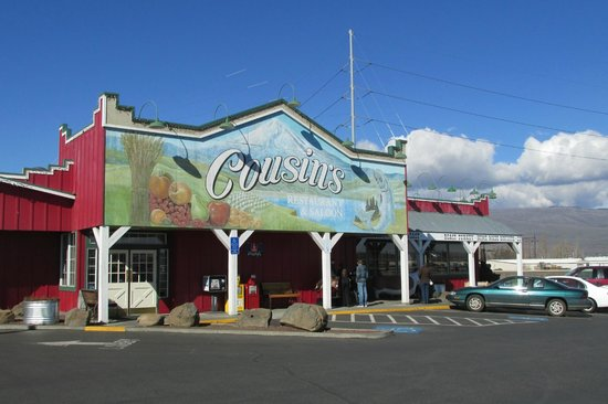 Cousins' Restaurant & Saloon:                   The facade