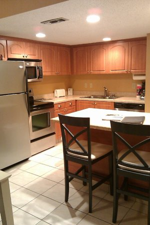 Waters Edge Resort:                                     Very nice kitchen