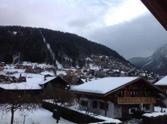 More Mountain - Chalet Jirishanca:                   View from window