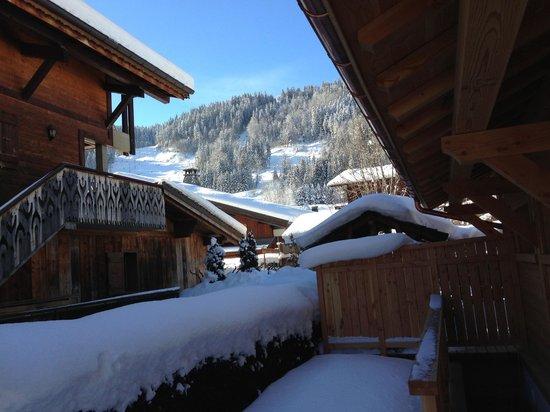 More Mountain - Chalet Jirishanca:                   Just outside