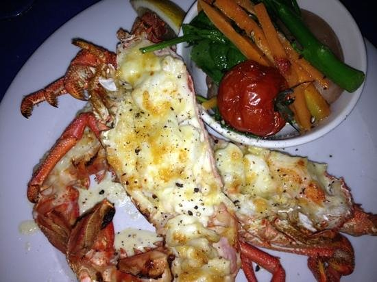 George's Paragon Seafood Restaurant Coolangatta:                   $35 lobster is amazing!