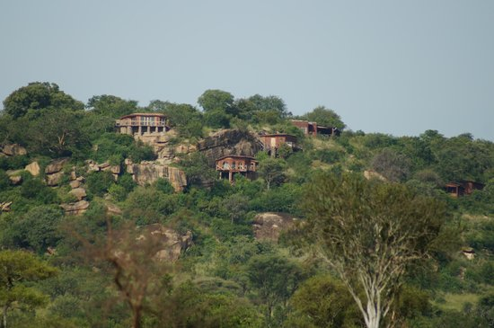 Boundary Hill Lodge:                   View of BHL from a distance