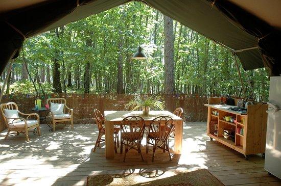 Le Grand Bois :                   Safaritent