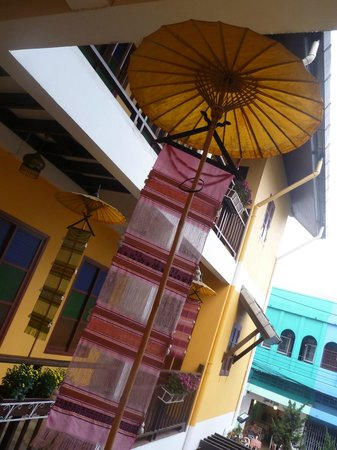 Chiangmai Boutique House:                   outside decorations