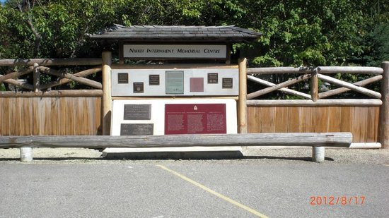 Nikkei Internment Memorial Centre: National Historic Site Designation and Commemoration Plaques