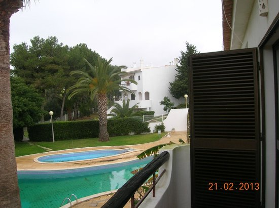 Turiquintas Holiday Village:                   view from west balcony