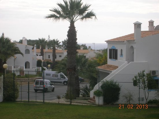 Turiquintas Holiday Village:                   view from south balcony
