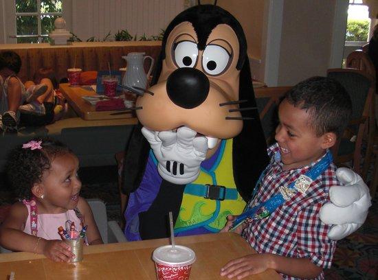 Disney's Beach Club Resort:                   Character Breakfast at Cape May