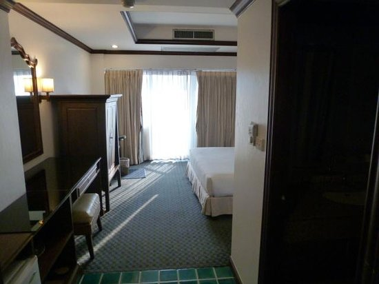Grand Hotel Pattaya:                   The Bedroom from the door
