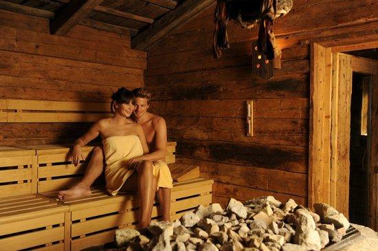 Hotel Schwarzenstein: Sauna delle strege