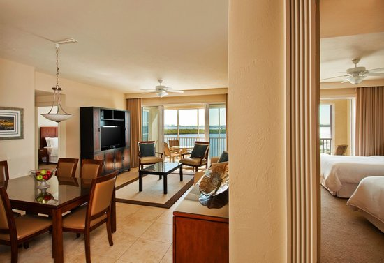 The Westin Cape Coral Resort At Marina Village: Suite Living Area