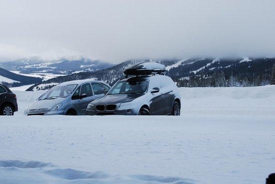 Copperhill Mountain Lodge:                   snow
