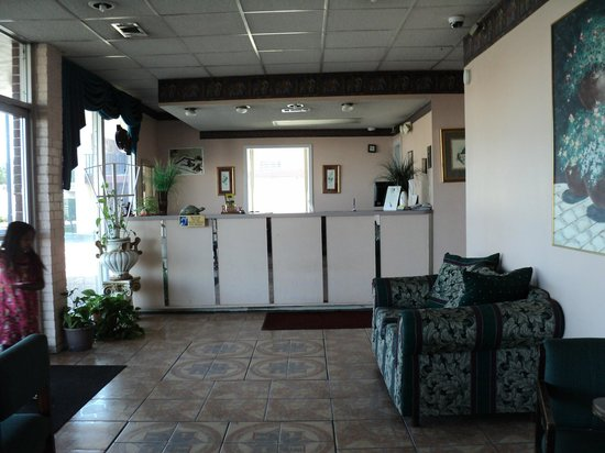 Relax Inn and Suites: office area