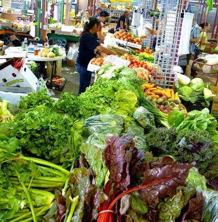 Yellow Green Farmers Market: Maria Coronas stand at YGFM, Fresh Local Produce