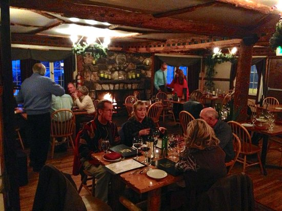 The Bistro at Marshdale:                   Warm and cozy on a snowy night